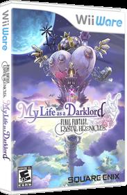 Final Fantasy Crystal Chronicles: My Life as a Dark Lord - Box - 3D