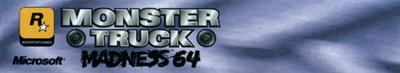 Monster Truck Madness 64 - Banner