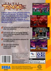Primal Rage - Box - Back - Reconstructed