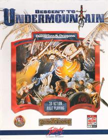 Descent to Undermountain - Box - Front