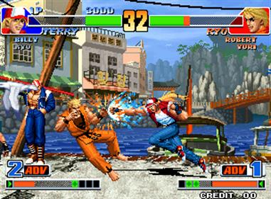 The King of Fighters '98: The Slugfest - Screenshot - Gameplay