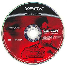 Capcom vs. SNK 2 EO - Disc