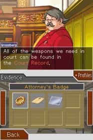 Phoenix Wright: Ace Attorney: Trials and Tribulations - Screenshot - Gameplay