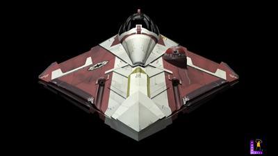 Star Wars: Jedi Starfighter - Fanart - Box - Front