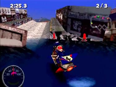Jet Moto 2 - Screenshot - Gameplay