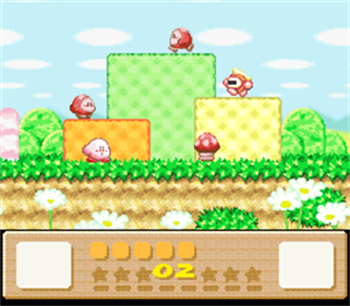 Kirby's Dream Land 3 - Screenshot - Gameplay