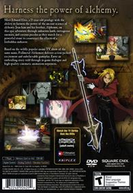 Fullmetal Alchemist and the Broken Angel - Box - Back