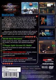 Armored Core 2: Another Age - Box - Back