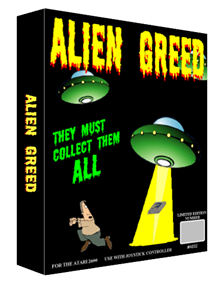 Alien Greed - Box - 3D