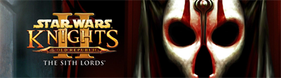 Star Wars: Knights of the Old Republic II: The Sith Lords - Arcade - Marquee