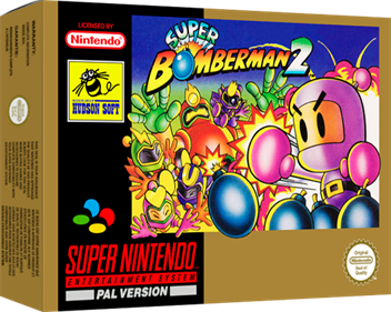 Super Bomberman 2 - Box - 3D