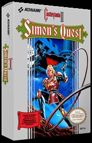 Castlevania II: Simon's Quest - Box - 3D