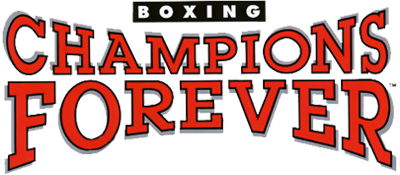 Champions Forever Boxing - Clear Logo