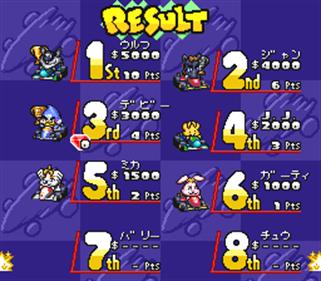 SD F-1 Grand Prix - Screenshot - High Scores