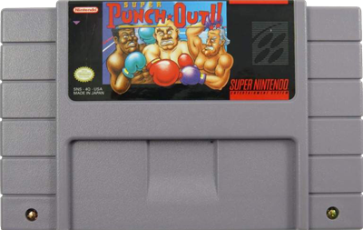 Super Punch-Out!! - Cart - Front