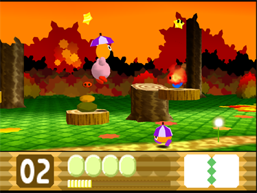 Kirby 64: The Crystal Shards - Screenshot - Gameplay