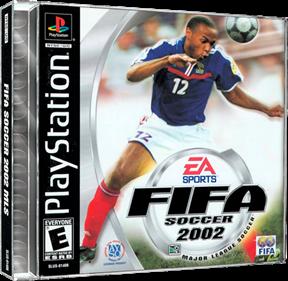 FIFA Soccer 2002: Major League Soccer - Box - 3D