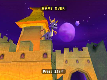 Spyro: Year of the Dragon - Screenshot - Game Over