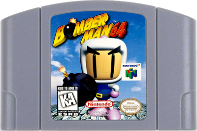 Bomberman 64 - Cart - Front