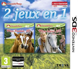2in1 Horses 3D: My Foal 3D + My Riding Stables 3D: Rivals in the Saddle