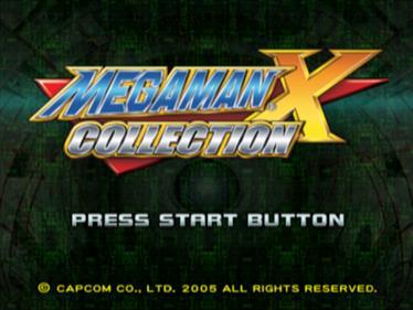 Mega Man X Collection - Screenshot - Game Title