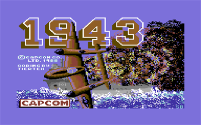 1943: The Battle of Midway - Screenshot - Game Title