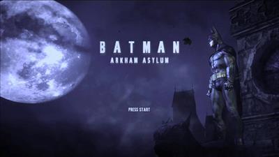 Batman: Arkham Asylum - Screenshot - Game Title