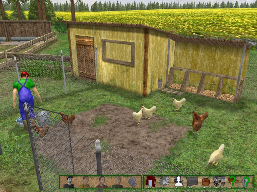 Der Bauernhof Spiel