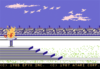 Winter Games - Screenshot - Game Title