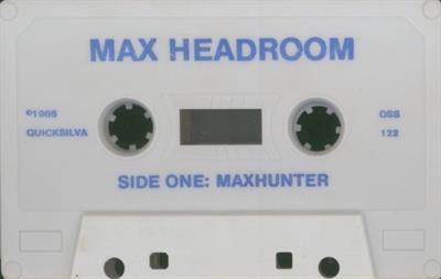 Max Headroom - Cart - Front