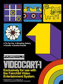 Videocart-1: Tic-Tac-Toe & Shooting Gallery & Doodle & Quadra-Doodle
