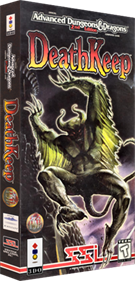 Advanced Dungeons & Dragons: DeathKeep - Box - 3D