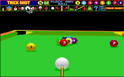 Archer Maclean's Pool - Screenshot - Gameplay