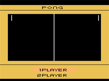 Arcade Pong - Screenshot - Game Title