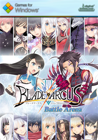Blade Arcus from Shining: Battle Arena - Fanart - Box - Front