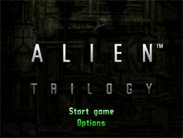 Alien Trilogy - Screenshot - Game Title