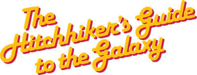 The Hitchhiker's Guide to the Galaxy - Clear Logo