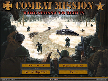 Combat Mission II: Barbarossa to Berlin - Screenshot - Game Title