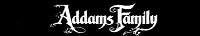 The Addams Family - Banner