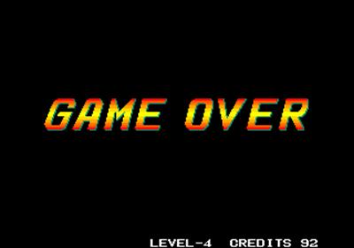 Fight Fever - Screenshot - Game Over