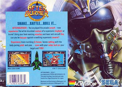 After Burner - Box - Back