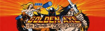Golden Axe: The Revenge of Death Adder - Arcade - Marquee