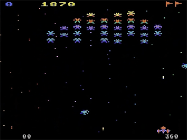Galaxian - Screenshot - Gameplay
