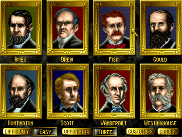 1830: Railroads and Robber Barons - Screenshot - Game Select