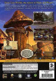 Uru: Ages Beyond Myst - Box - Back