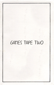 Games Tape Two