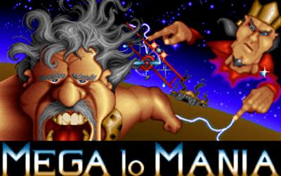 Mega lo Mania - Screenshot - Game Title