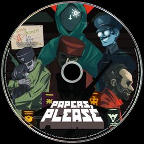 Papers, Please - Fanart - Disc