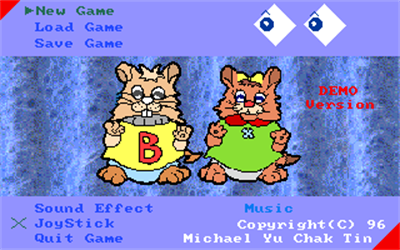 3D Hamster's Adventure - Screenshot - Game Title