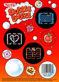 Bubble Bobble - Box - Back